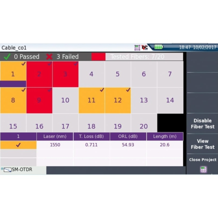 CABLE - SLM - Smart Link Mapper für die Verwaltung größerer Kabelprojekte