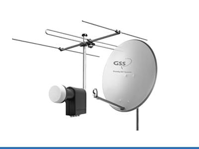 Antennas & Mirrors & LNB